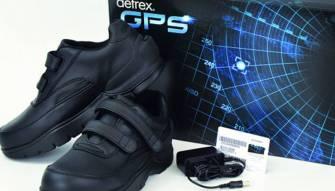 بالصور- حذاء مزود بنظام جي بي إس