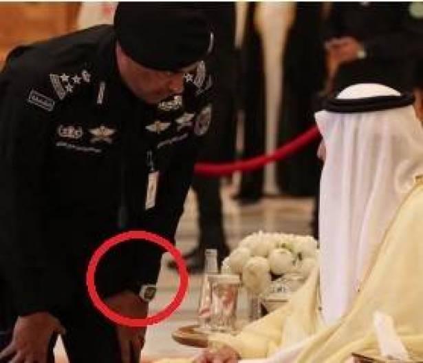 7c9b2bdf4 ثمن ساعة حارس الملك السعودي تثير ضجّة.. لن تتخيّلوا قيمتها ...