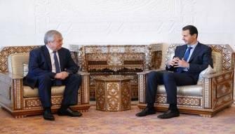 موفد بوتين نقل رسالة من بن سلمان الى الرئيس الاسد