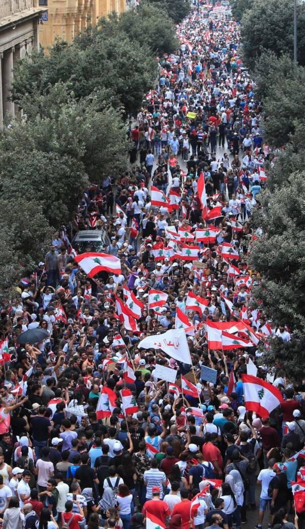 السيد حسن نصرالله حصن حركة المنتفضين العفوية والصادقة بنصائحه ولن يتركهم