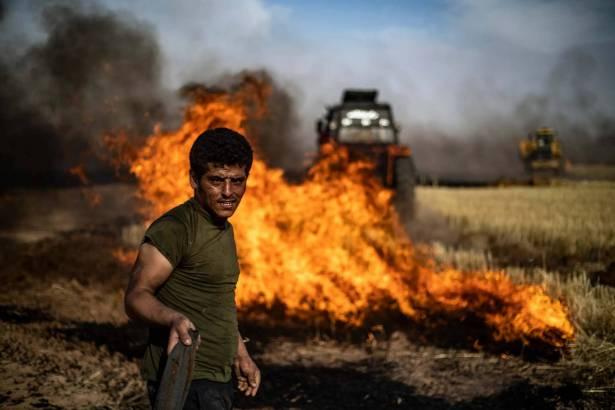 الطيران الأميركي يحرق ملايين هكتارات القمح في سوريـا هـل ترامب بحاجة الـى حرب صغيرة قبـل الإنتخابات الأميركيّة؟ بوتـيـن كلّـف موفداً شخصياً لإزالـــــة التباينـات مــع دمشــق