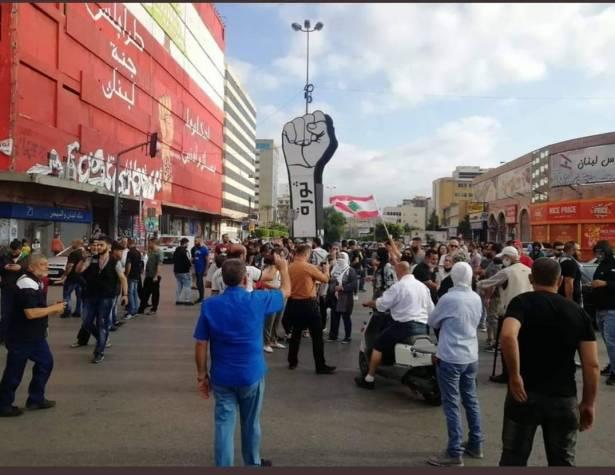 الاحتجاجات تعود الى الشمال «المنكوب» وخطر كورونا يتزايد